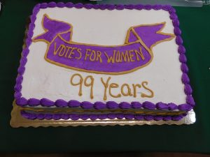 Women's Equality Day cake