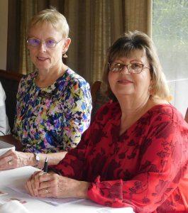 Sally Smeaton and Kathy Burns