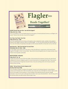 Flagler Reads Together Flyer2020