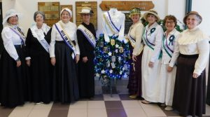 AAUW Suffragists at the Library